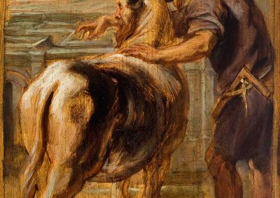 Dédalo e o minotauro