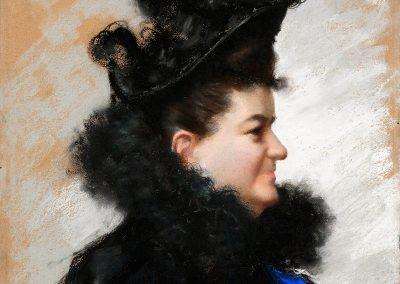 Retrato de doña Emilia Pardo Bazán