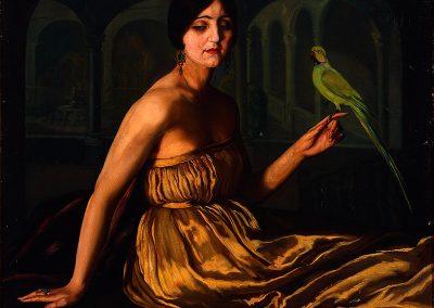 La dama del papagayo